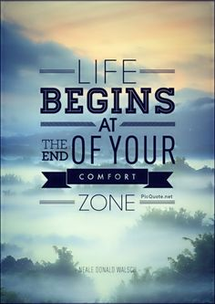 Expand Your Comfort Zone Today